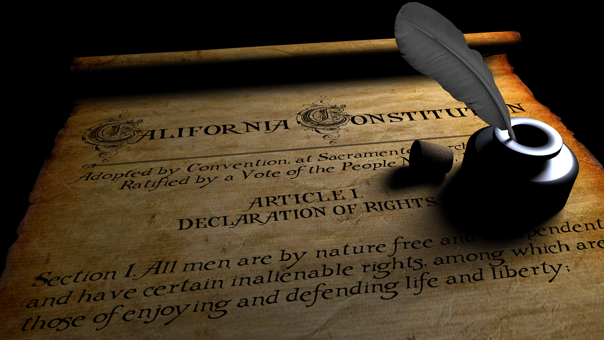 state constitution Preamble: we, the people of the state of california, grateful to almighty god for our freedom, in order to secure and perpetuate its blessings, do establish this.