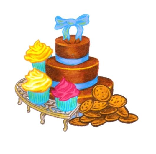 Chocolate cake, chocolate chip cookies, cupcakes
