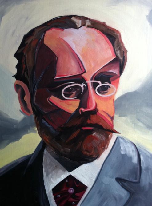 Emile Zola Portrait